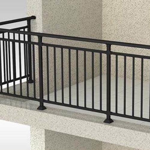 锌钢阳台护栏多少钱一米(销售加安装)